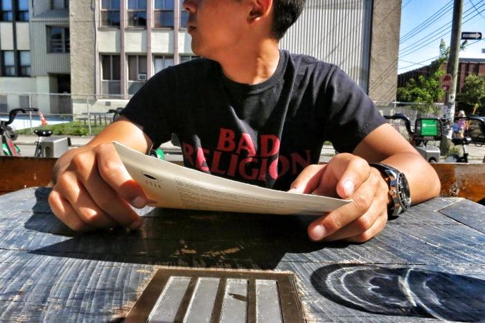 café arts montreal food blog