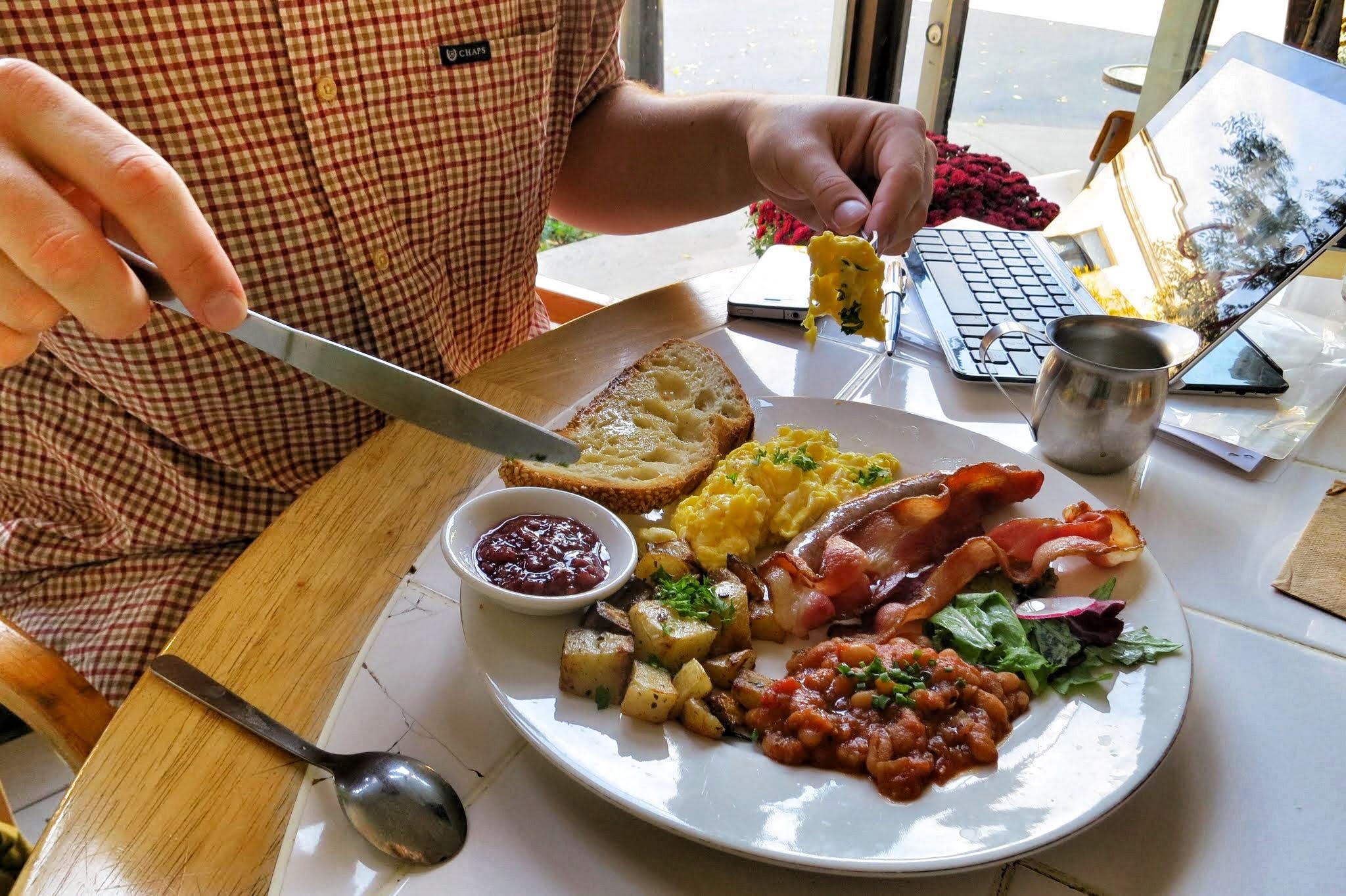 Brunch Cafe St Charles Menu