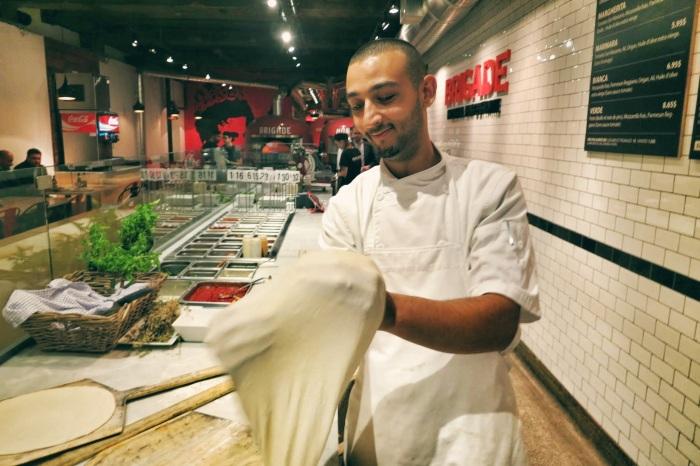 la brigade pizza montreal food blog 1