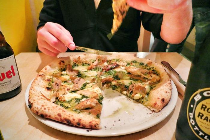 la brigade pizza montreal food blog 5