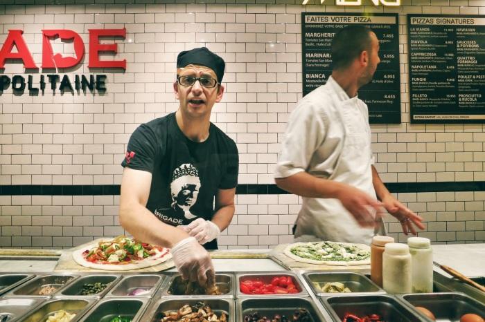 la brigade pizza montreal food blog 9