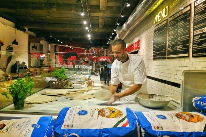 la brigade pizza montreal food blog
