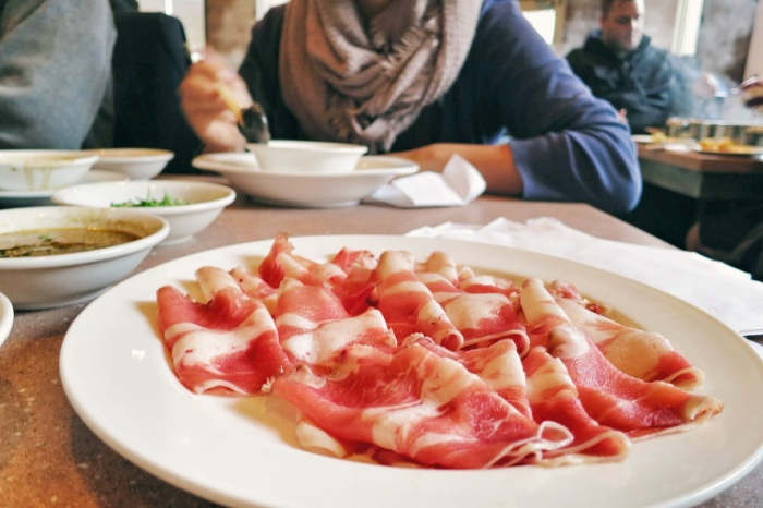 mongolian hot pot montreal food snob 4