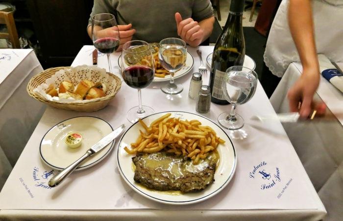 l'entrecote st-jean mtl food snob blog 3